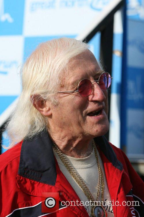 Jimmy Savile and The Great North Run