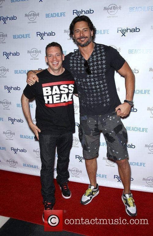 Joe Manganiello and Hard Rock Hotel And Casino