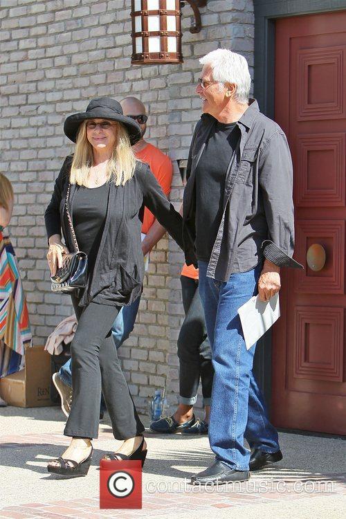 Barbra Streisand and James Brolin 3