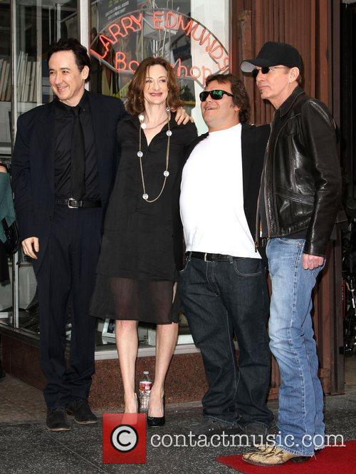 John Cusack, Billy Bob Thornton, Jack Black, Joan Cusack and Star On The Hollywood Walk Of Fame