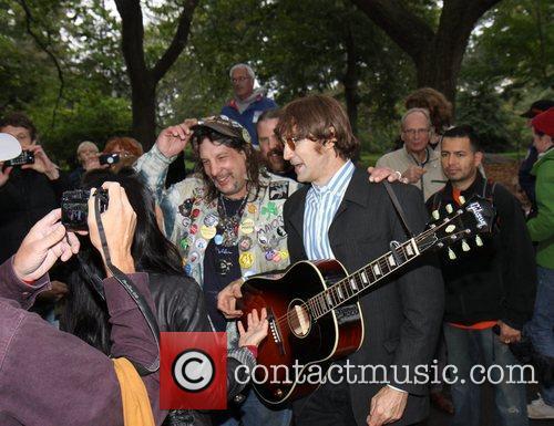 John Lennon and Tim Biancalana