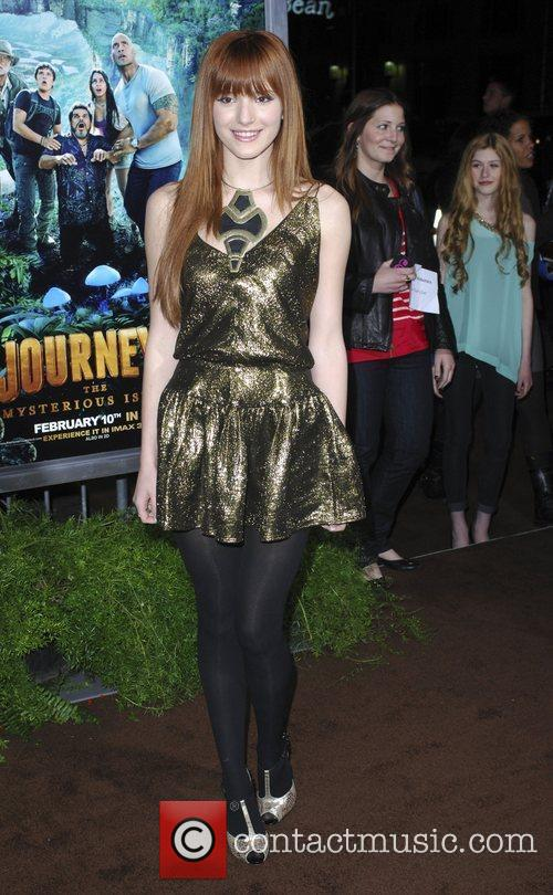 Bella Thorne and Grauman's Chinese Theatre 1