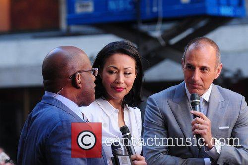 Al Roker, Ann Curry and Matt Lauer 1