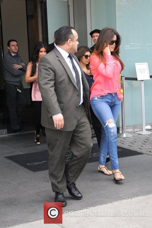Khloe Kardashian and Manhattan Hotel