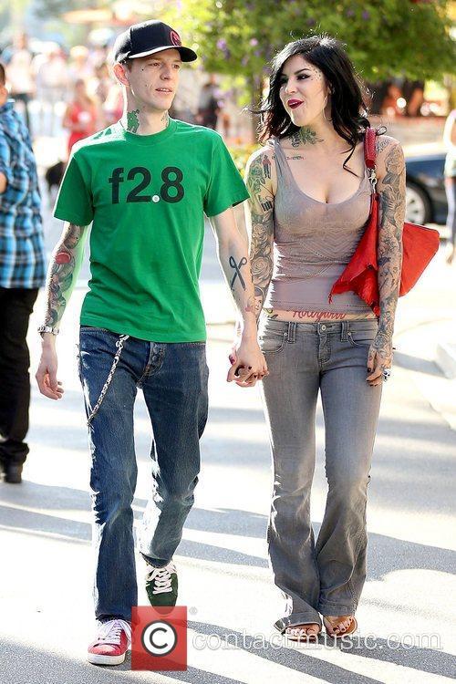 Deadmau5 and Kat Von D 1