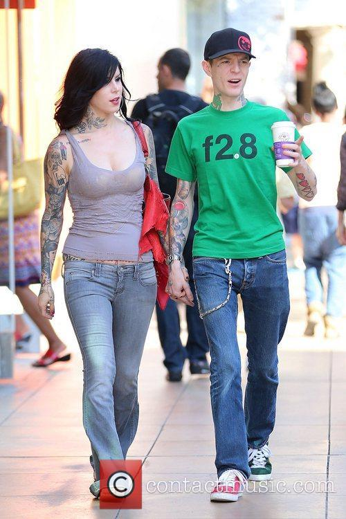 Kat Von D and Joel Thomas Zimmerman 5