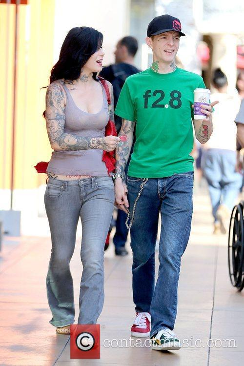 Kat Von D and Joel Thomas Zimmerman 1