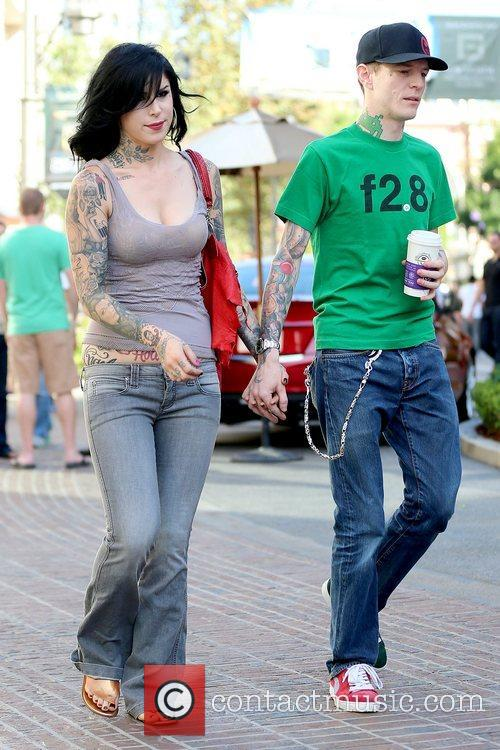 Kat Von D and Joel Thomas Zimmerman 2
