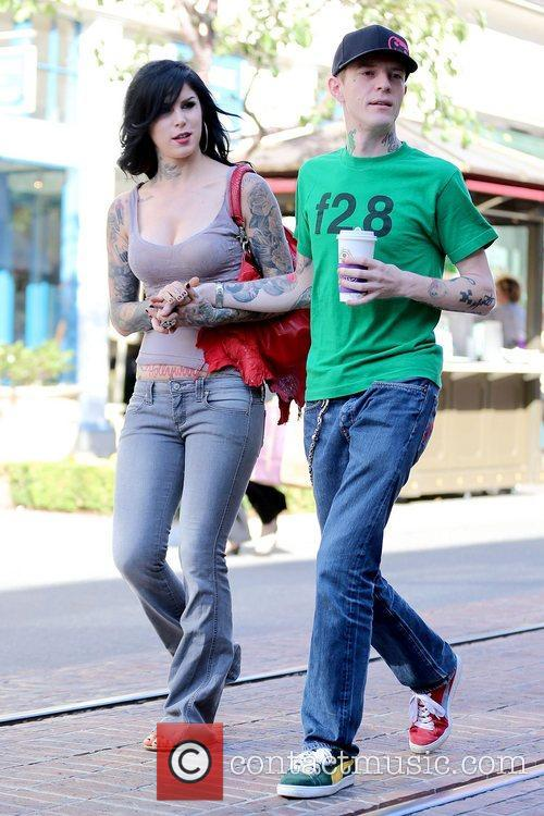 Kat Von D and Joel Thomas Zimmerman 11