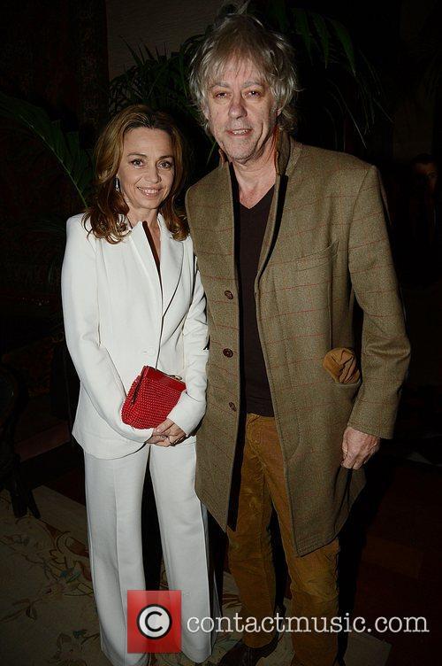 Jeanne Marine and Bob Geldof 4