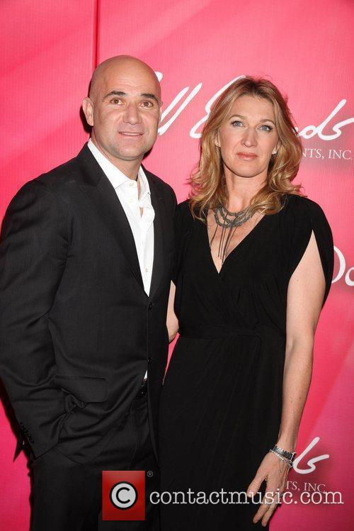 Andre Agassi, Stefi Graf Keep Memory Alive 'Power...