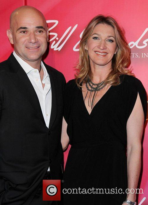 Andre Agassi and Steffi Graf Keep Memory Alive...