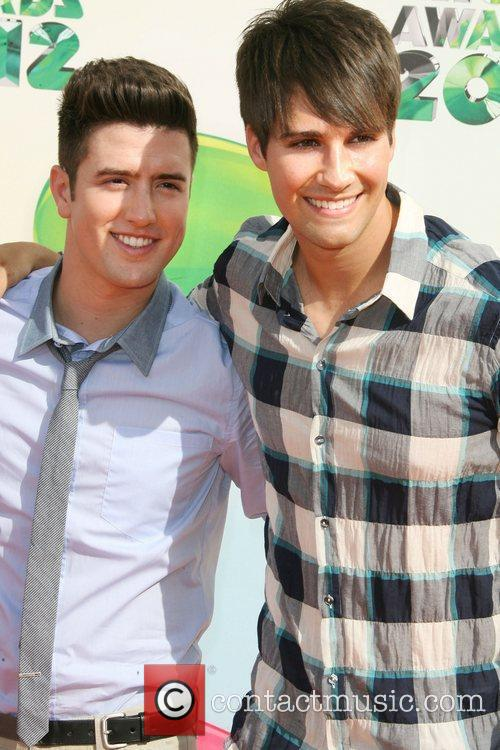 Logan Henderson, Big Time Rush and James Maslow 7