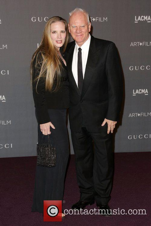 Kelley Mcdowell and Malcolm Mcdowell