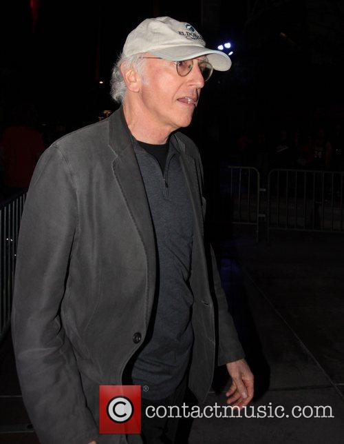 Larry David and Staples Centre 2
