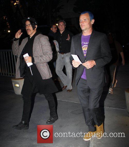 Anthony Kiedis, Flea and Staples Centre