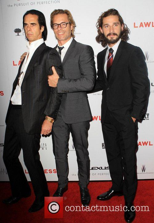 Nick Cave, Guy Pearce and Shia Labeouf