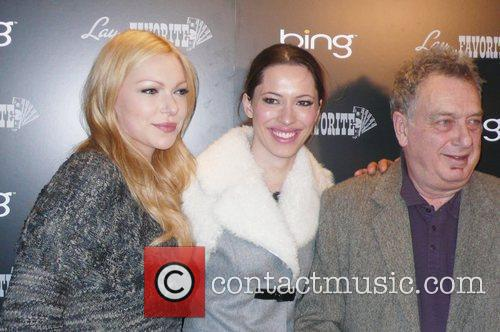 Laura Prepon, Rebecca Hall and Stephen Frears