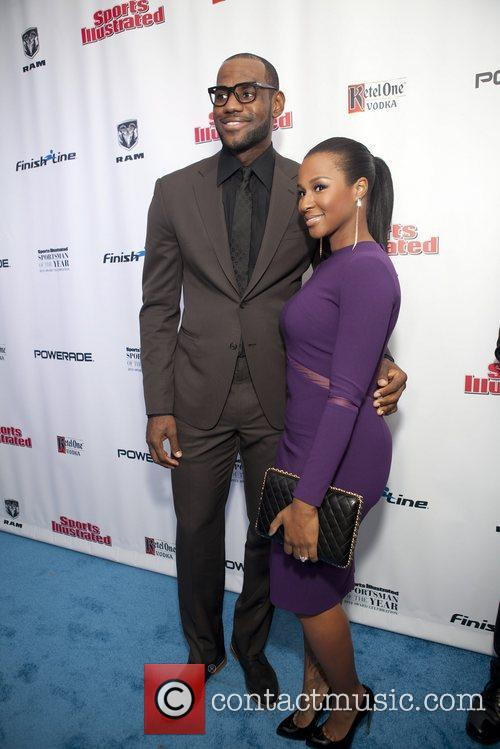 Lebron James and Savannah Brinson