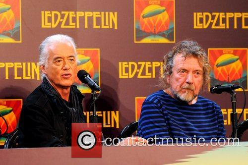 Jimmy Page, Robert Plant, Led Zeppelin, Celebration Day, Press Conference and New York City