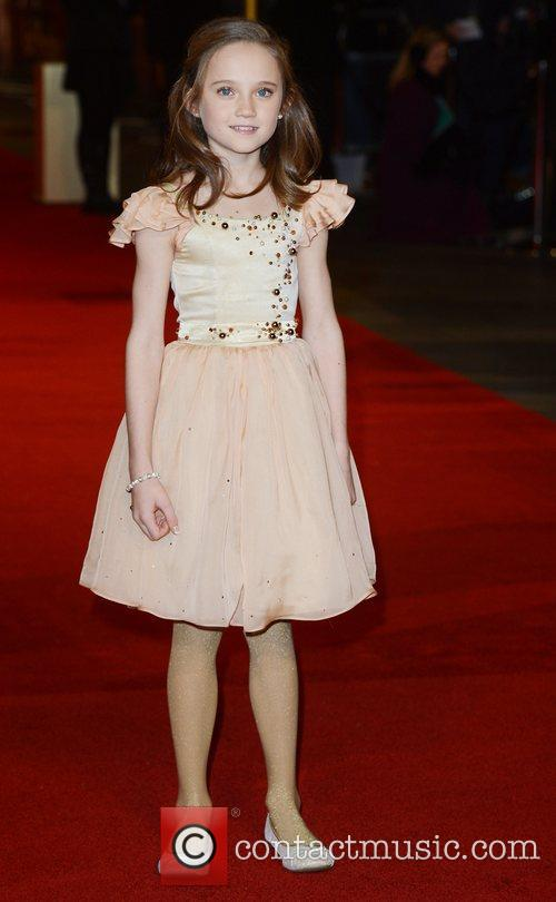 Isabelle Allen, Les Miserable, Odeon, Leicester Square, London and England 4
