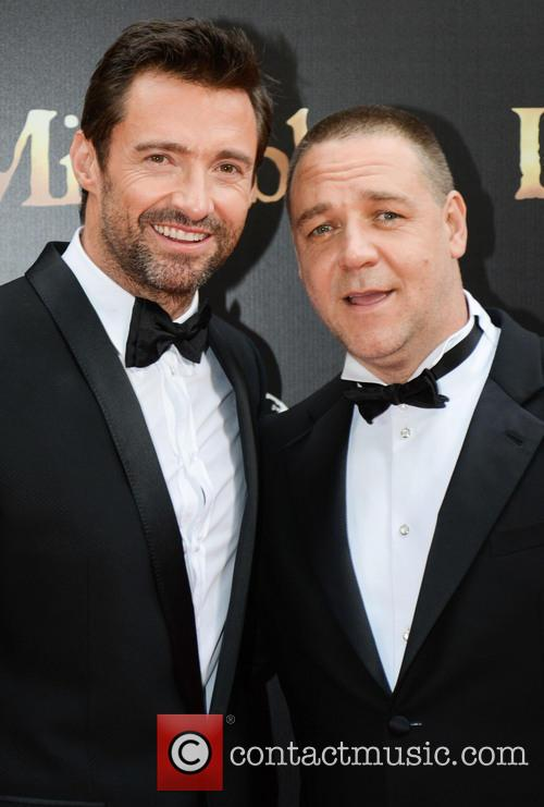 Hugh Jackman and Russell Crowe 8