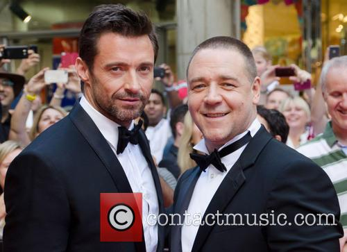 Hugh Jackman and Russell Crowe 7