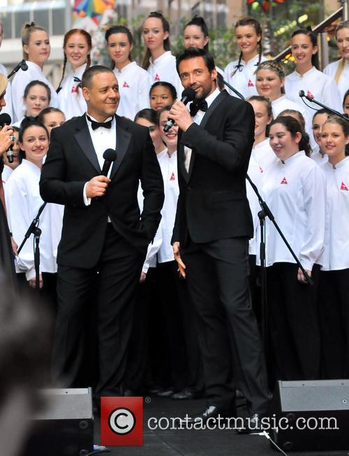 Hugh Jackman and Russell Crowe 1