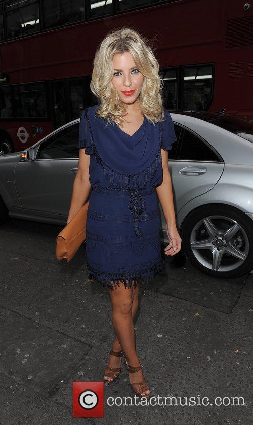 Mollie King and London Fashion Week 2