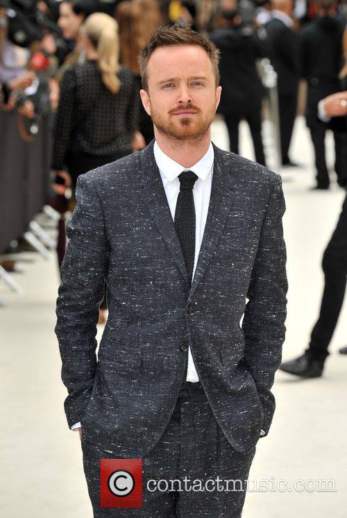 Aaron Paul London Fashion Week: Burberry Spring/Summer 2012...