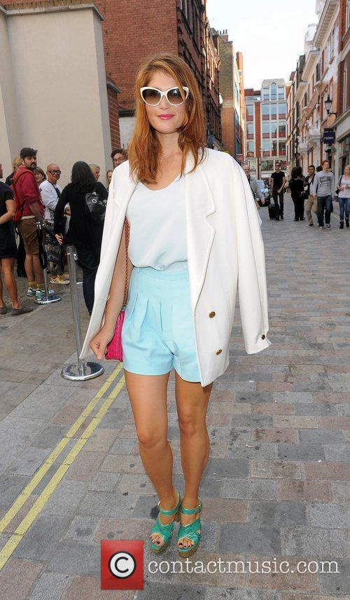 Gemma Arterton and London Fashion Week 1