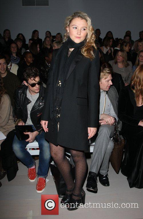 Amber Atherton London Fashion Week Autumn/Winter 2012 -...