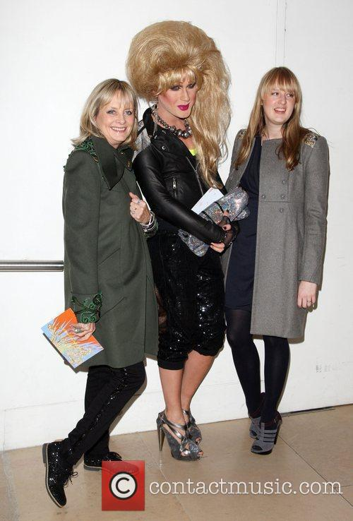 Twiggy, Jodie Harsh and London Fashion Week 2