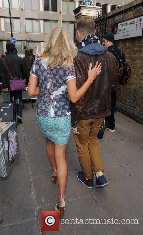 Mollie King and London Fashion Week 3