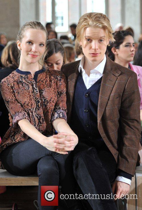 Tamzin Merchant, Freddie Fox and London Fashion Week 2