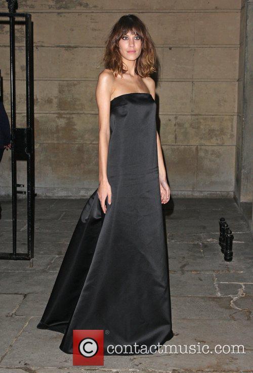 Alexa Chung Stella McCartney Winter 2012 London Eveningwear...
