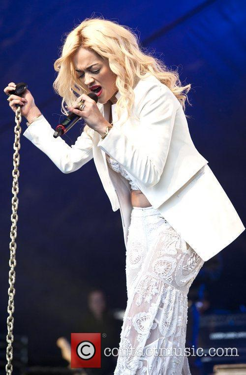 Rita Ora and Lovebox