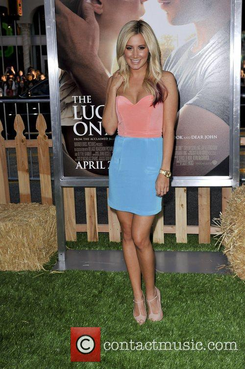Ashley Tisdale,  at the premiere of 'The...