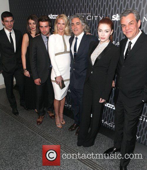 Steven Strait, Christian Cooke, Danny Huston, Dominik Garcia-lorido, Kelly Lynch and Mitch Glazer