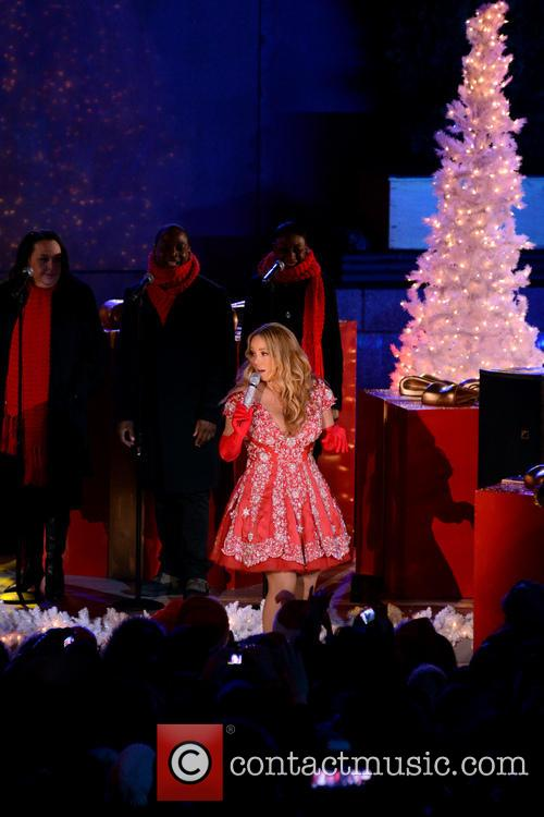 Mariah Carey, Tree Lighting Ceremony and Rockefeller Center 3