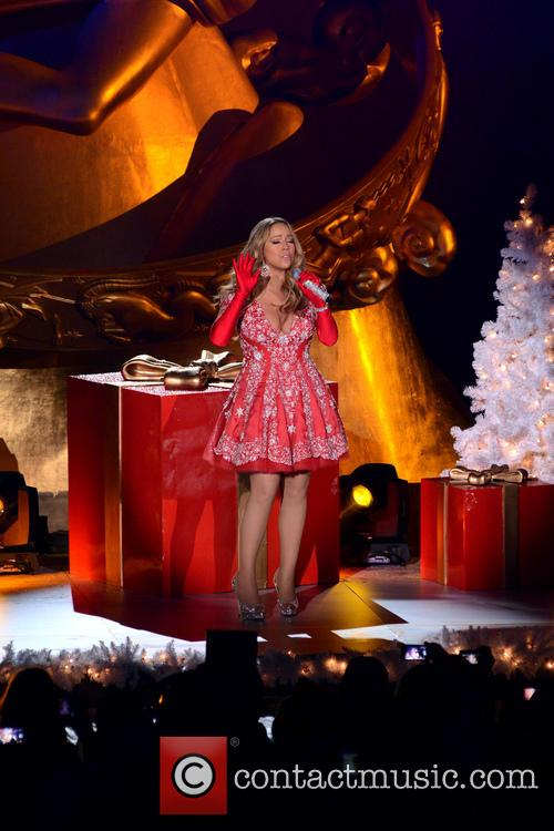 Mariah Carey, Tree Lighting Ceremony and Rockefeller Center 1