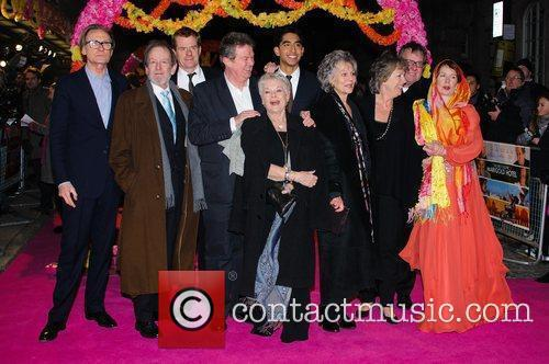 Celia Imrie, Bill Nighy, John Madden, Judi Dench, Penelope Wilton and Tom Wilkinson