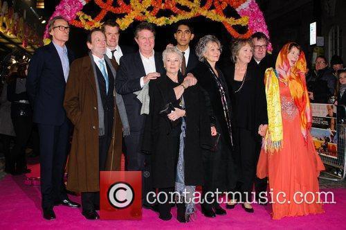 Celia Imrie, Bill Nighy, John Madden, Judi Dench, Penelope Wilton and Tom Wilkinson 11