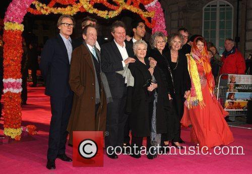 Celia Imrie, Bill Nighy, John Madden, Judi Dench, Penelope Wilton and Tom Wilkinson 3