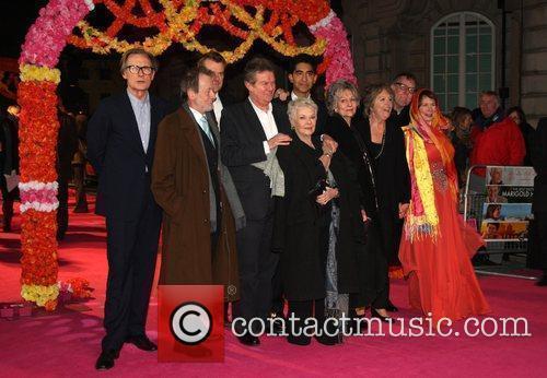 Celia Imrie, Bill Nighy, John Madden, Judi Dench, Penelope Wilton and Tom Wilkinson 4