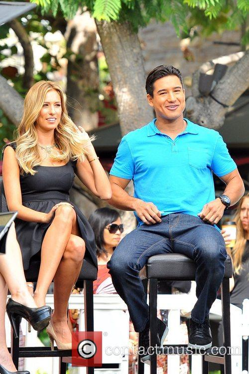Mario Lopez and Renee Bargh 1