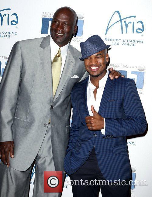 Michael Jordan and Ne-yo 1