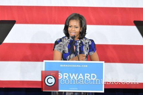 First Lady Michelle Obama, Broward College and Davie 10