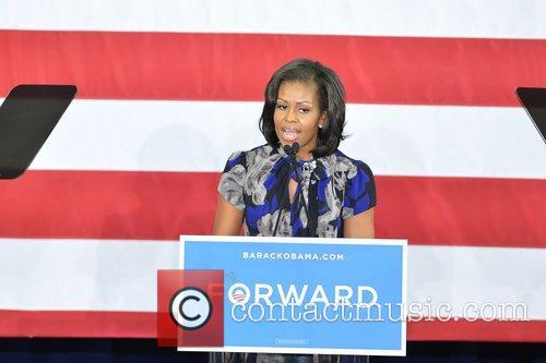 First Lady Michelle Obama, Broward College and Davie 8