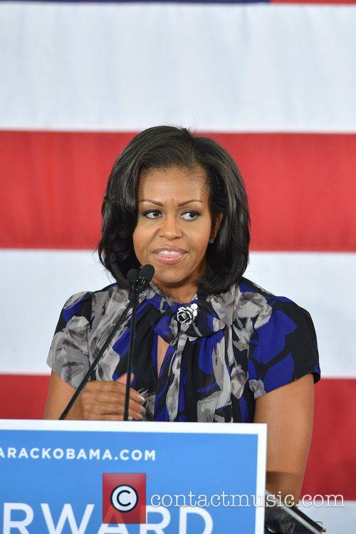 First Lady Michelle Obama, Broward College and Davie 5